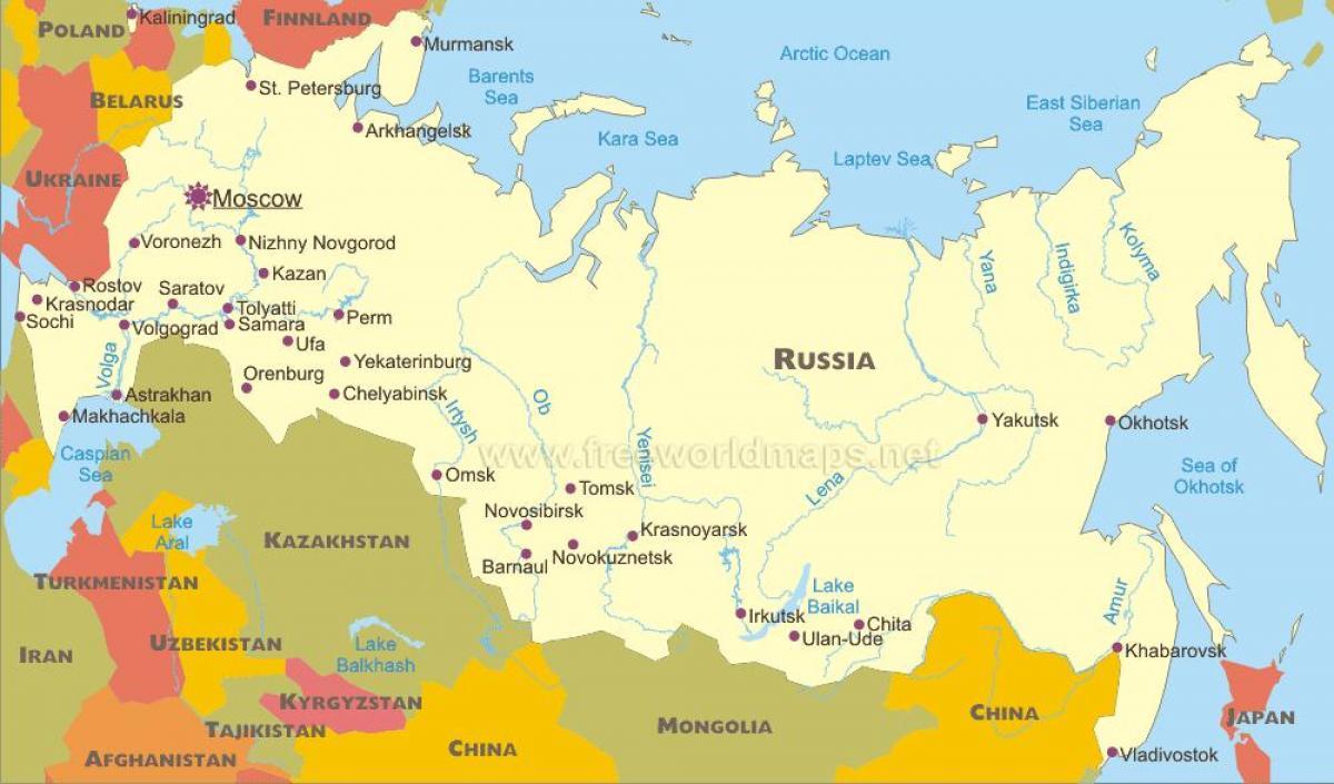 Sochi Russia Cartina.Mapa De Cidades Russas Mapa De Cidades Russas Europa De Leste Europa